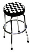 ATD Tools 81055 Shop Stool with Checker Design