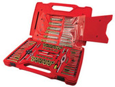 ATD Tools 277 Machine Screw, Fractional & Metric Tap & Die Drill Bit Set, 117 pc.