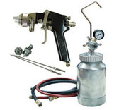 ATD Tools 16843 2-qt Pressure Pot With Spray Gun & Hose Kit