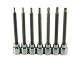 ATD Tools 13776 Extra Long Tamper-resistant Star Bit Socket Set, 7 pc.