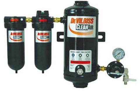 DeVilbiss DAD500 Desiccant Air Dryer System