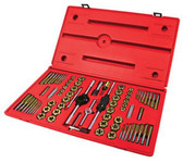 ATD Tools 276 Machine Screw, Fractional & Metric Tap & Die Set, 76 pc.