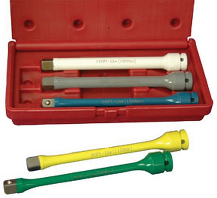 "ATD Tools 4375 1/2"" Dr. Wheel Torque Extension Set, 5 pc."