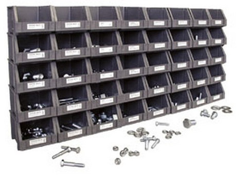 ATD Tools 344 Metric Nut and Bolt Assortment, 800 pc.