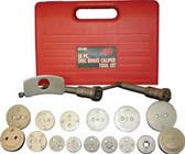 ATD Tools 5165 Disc Brake Caliper Tool Set, 18 pc.