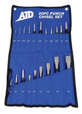 ATD Tools 720 20 pc. Punch & Chisel Set