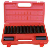 ATD Tools 4301 6-Point Metric Deep Impact Socket Set, 14 pc.