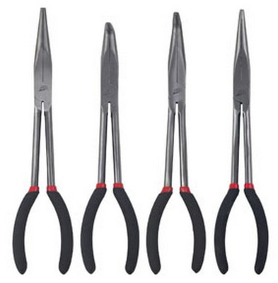 "ATD Tools 814 Long 11"" Needle Nose Pliers Set, 4 pc."