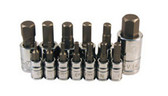 ATD Tools 13785 Metric Hex Bit Socket Set, 13 pc.