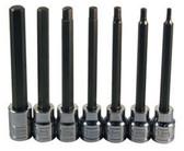 ATD Tools 13787 XL Sae Hex Bit Socket Set, 7 pc.