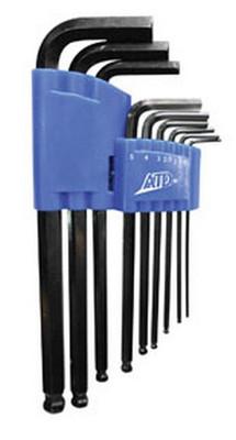 ATD Tools 585 Metric Long Arm End Hex Key Set