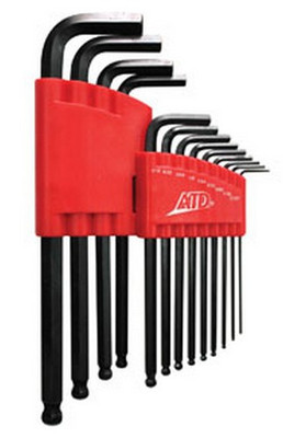 ATD Tools 584 SAE Long Arm Ball End Hex Key Set