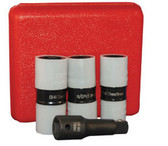 "ATD Tools 4354 1/2"" Dr. Protective Wheel Nut Flip Impact Socket Set, 4 pc."