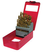 ATD Tools 9229 Titanium Coated Premium Drill Bit Set, 29-Piece