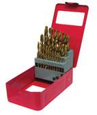 ATD Tools 9229 Titanium Coated Premium Drill Bit Set, 29-Piece