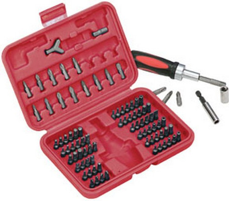 ATD Tools 549 Security Set with Ratchet, 90 pc.