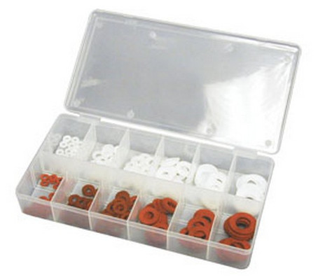 ATD Tools 371 Fiber & Nylon Washer Assortment, 200 pc.