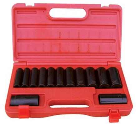 ATD Tools 4401 Deep Impact 6-Point Socket Set, 13 pc.