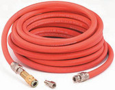 "DeVilbiss HA5867 3/8"" HVLP Air Hose 3 pc. Reusable Assembly - 35 ft."