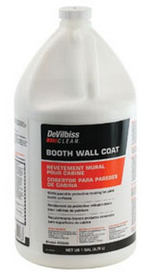 DeVilbiss 803668 Booth Wall Coat, 1 Gal