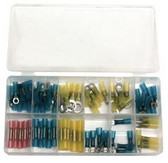ATD Tools 383 Heat Shrinkable Terminal Assortment, 75 pc.