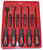 ATD Tools 8424 Scraper, Hook & Pick Set, 9 pc.