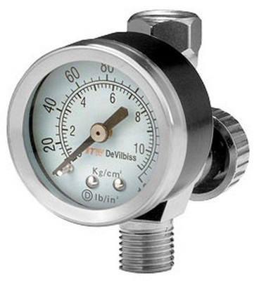 DeVilbiss HAV501 Air Adjusting Valve with Control Gauge
