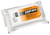 "DeVilbiss 803046 DeWipe-Outs 11"" x 17"" 50% IPA / 50% DI Water"
