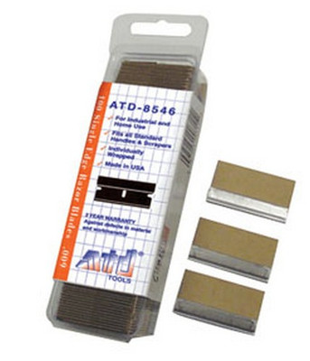 ATD Tools 8546 Single Edge Razor Blades (#9 blade)