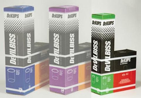 DeVilbiss DPC602 DeKups® 9 fl.oz../265 ml Disposable cups/lids (32)