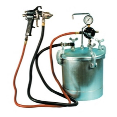 Astro Pneumatic PT2-4GH 2-1/4 Gallon Pressure Tank with Spray Gun and 12 ft. Hose