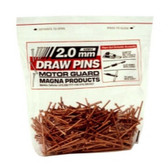 Motor Guard J20015 Draw Pins - 2.5mm