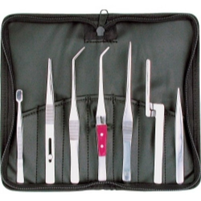 Steelman 5600 7 Piece Tweezer Set