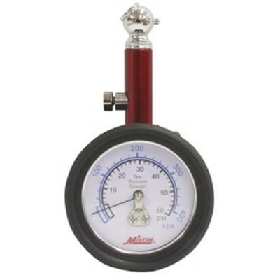 Milton S-932 Dial Tire Gauge, 0-60 PSI - 2 lb increments