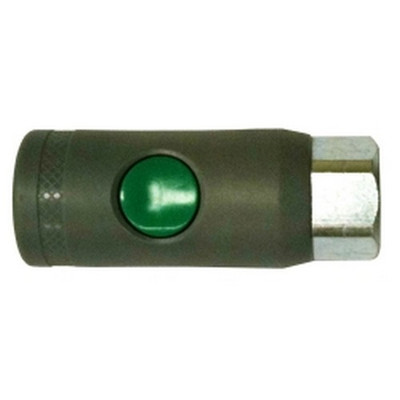"Milton S-99787 1/4"" NPT female, ""T"" Style Safety Coupler"