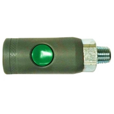 "Milton S-99788 1/4"" NPT Male, ""T"" Style Safety Coupler"