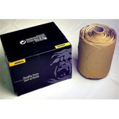 "Mirka Abrasives 23-314-220 Gold 5"" PSA Linkrol Discs, 100/Roll, 220-Grit"