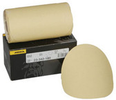 "Mirka Abrasives 23-342-180  23 Series Gold 6"" PSA Linkrol Disc, 180-Grit, C-Weight Backing"