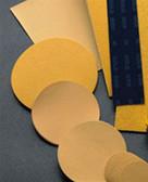 """Mirka Abrasives 23-352-040 Gold 8"""" 40-Grit PSA Discs, 50/Box"""