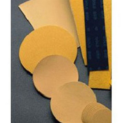 "Mirka Abrasives 23-170-040 Gold 2-3/4""X17-1/2"" Non-PSA File Sheets, 40-Grit, 50/Box"