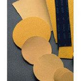 "Mirka Abrasives 23-170-100 Gold 2-3/4"" X 17-1/2"" Non-PSA File Sheets, 100/Box, 100-Grit"