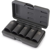 Titan Tools 15345 5pc 12pt Axle Nut Socket Set
