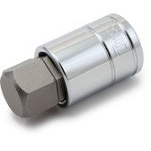 """Titan Tools 15620 Hex Bit Socket 1/2"""" Drive 20mm Chrome"""