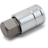 "Titan Tools 15622 Hex Bit Socket 1/2"" Drive 22mm Chrome"