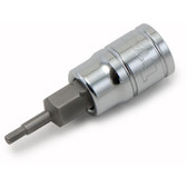 "Titan Tools 15658 Hex Bit Socket 3/8"" Drive 1/4"" Chrome"