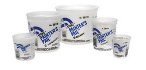 U. S. Chemical & Plastics 36171 Painter'S Pail Lid For 1 Pint Pail