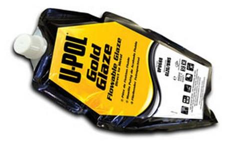 U-POL Products UP0688 Gold Glaze: Flowable Glaze, 440Ml Filler Bag, Gold
