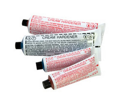 U. S. Chemical & Plastics 27110 Red Cream Hardener In Bulk Pack 4 Oz.