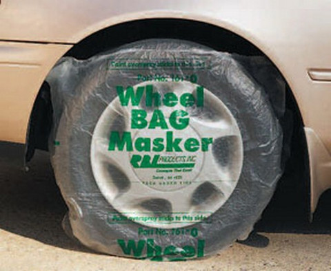 """RBL Products 161 Covers 15"""" Tires (Slit-Up Back Design)"""