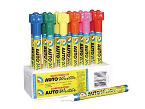 U. S. Chemical & Plastics 37008 Auto Writer Pen, Red